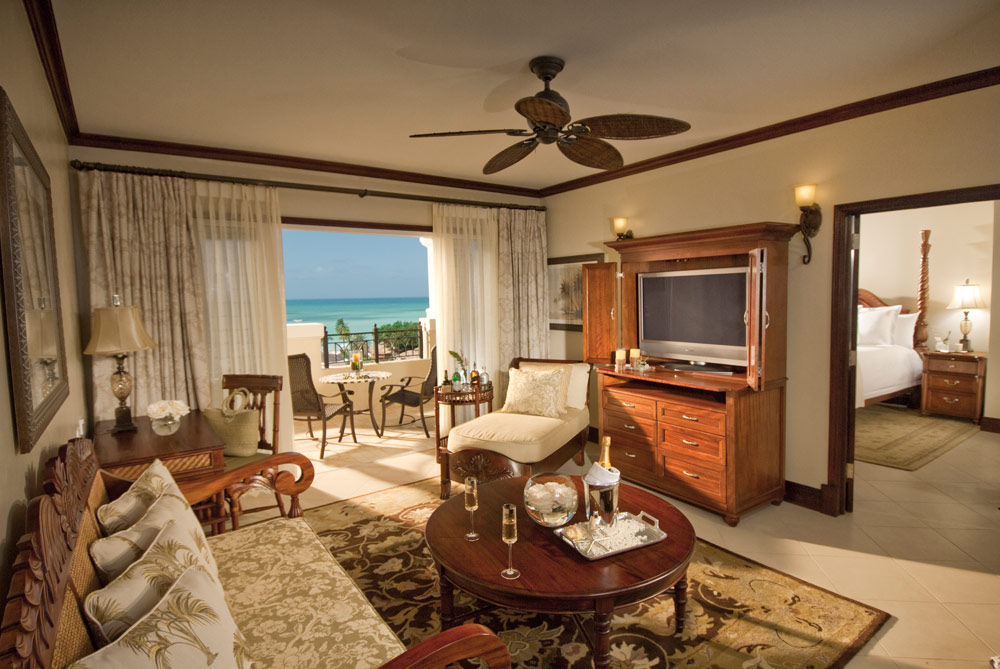 Suite Lounge at Sandals Grande AntiguaSaint JohnsAntigua and Barbuda