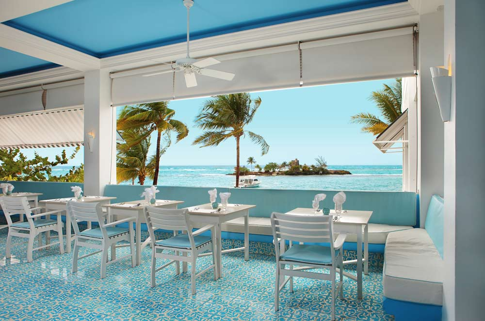 Patio Dining at Couples Tower Isle All Inclusive Resort
