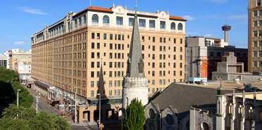 Exterior Of St. Anthony Riverwalk Hotel, San Antonio
