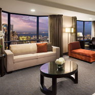 Presidential Suite Living RoomParc 55 San FranciscoCA