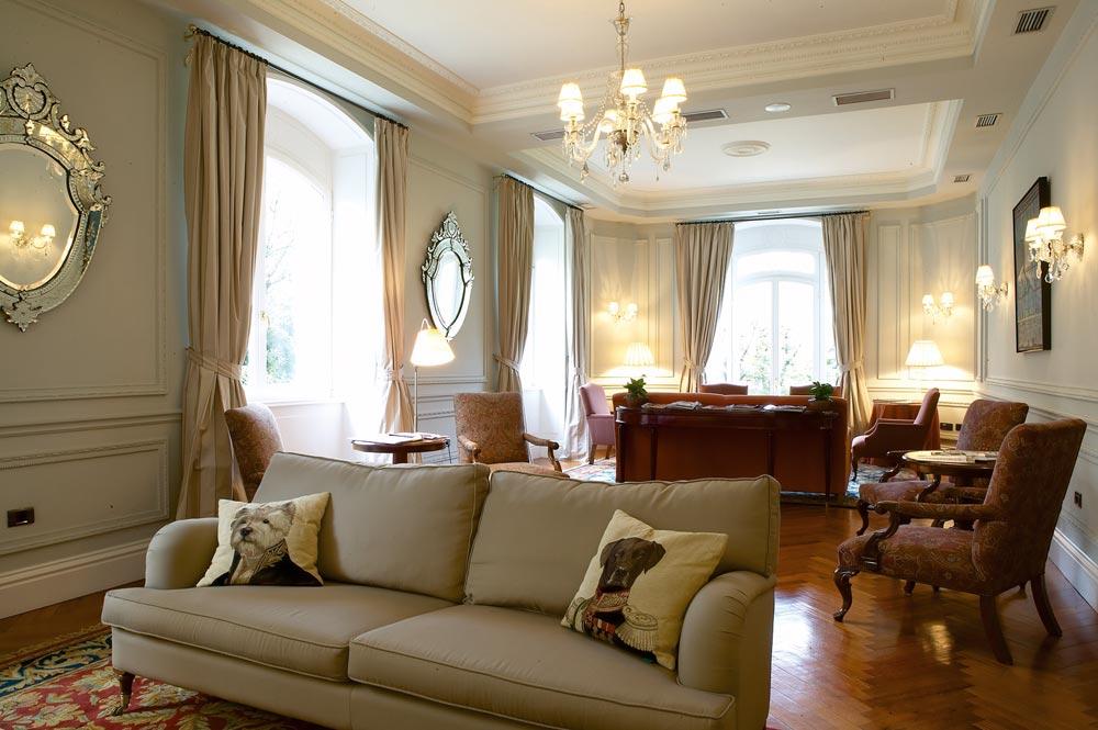 Lounge at Villa Soro