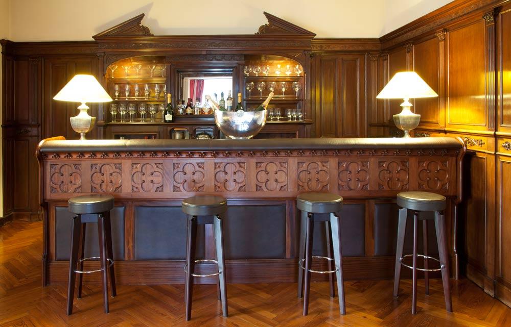 Bar Lounge at Villa Soro