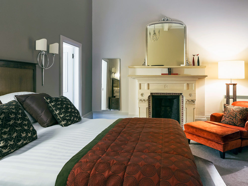 Guest Room at Walton Hall WellesbourneWarwickshireUnited Kingdom