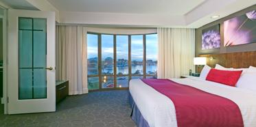 One Bedroom Ocean Suite at Delta Victoria Ocean Pointe Resort and Spa, Victoria, Canada