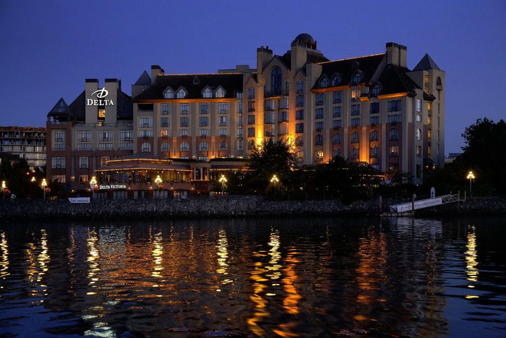Exterior of Delta Victoria Ocean Pointe Resort and SpaVictoriaCanada