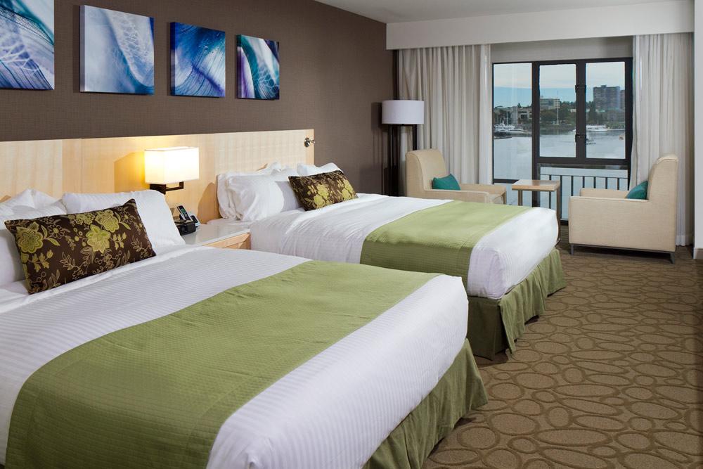 Double Guest Room at Delta Victoria Ocean Pointe Resort and SpaVictoriaCanada