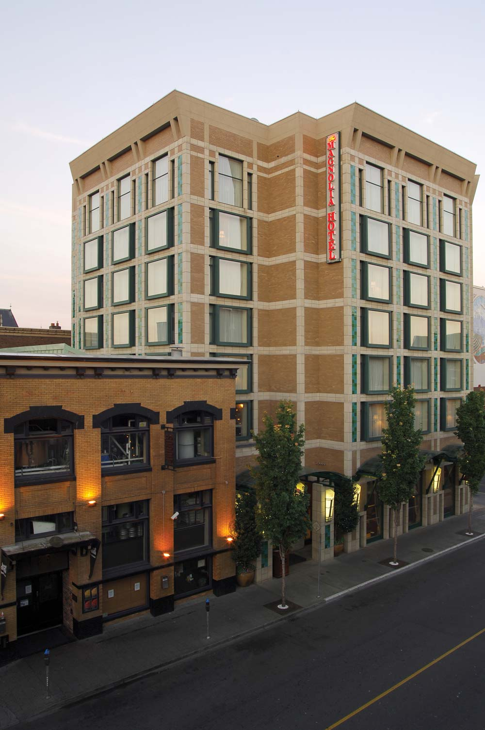 Exterior of  Magnolia Hotel And Spa, Victoria, Canada