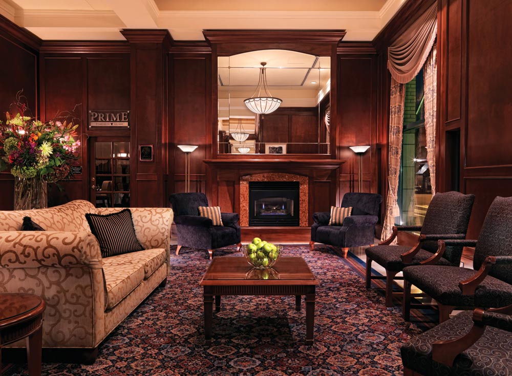 Lobby of Magnolia Hotel And Spa, Victoria, Canada