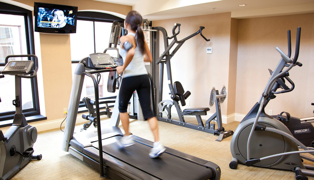 Fitness Center at Magnolia Hotel And Spa, Victoria, Canada