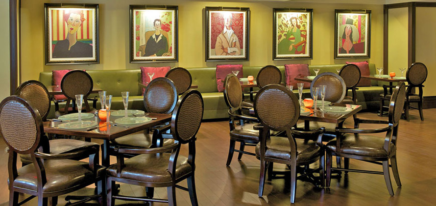 Dining at The Churchill Washington DC