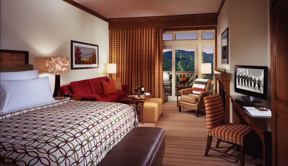 Stowe Mountain Lodge Guestroom