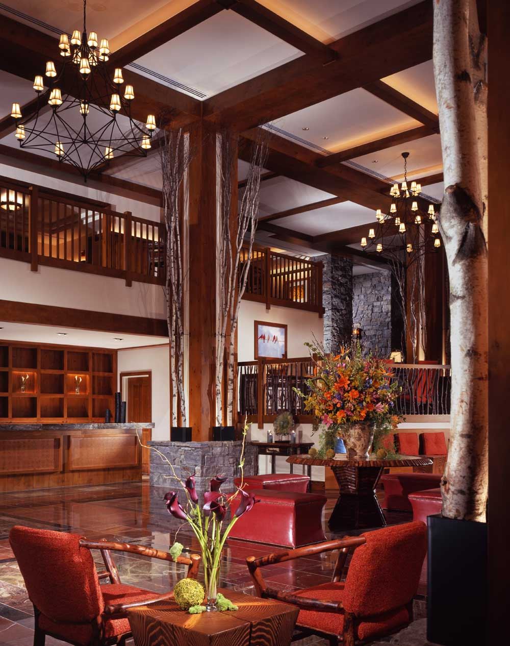 Lounge at Stowe Mountain Lodge