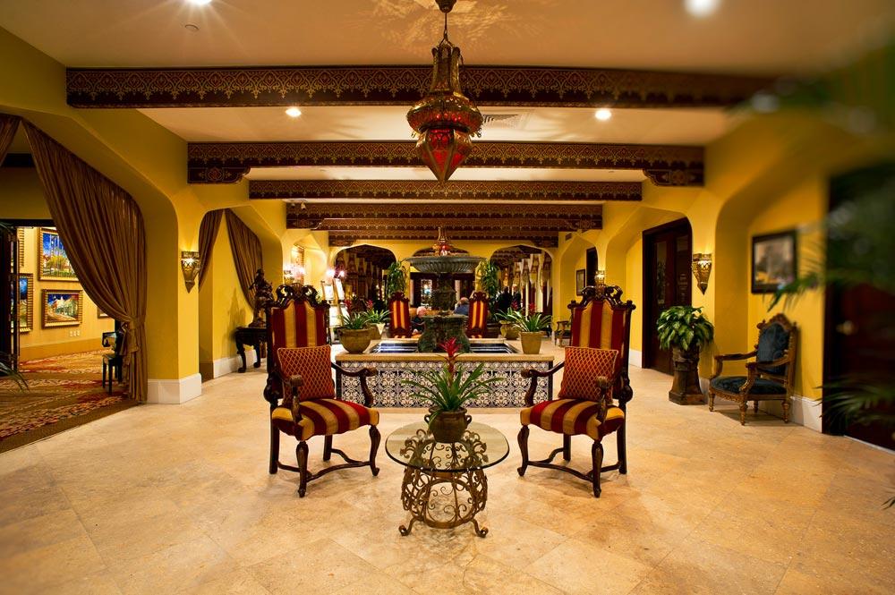Lobby of Casa Monica HotelSaint AugustineFL