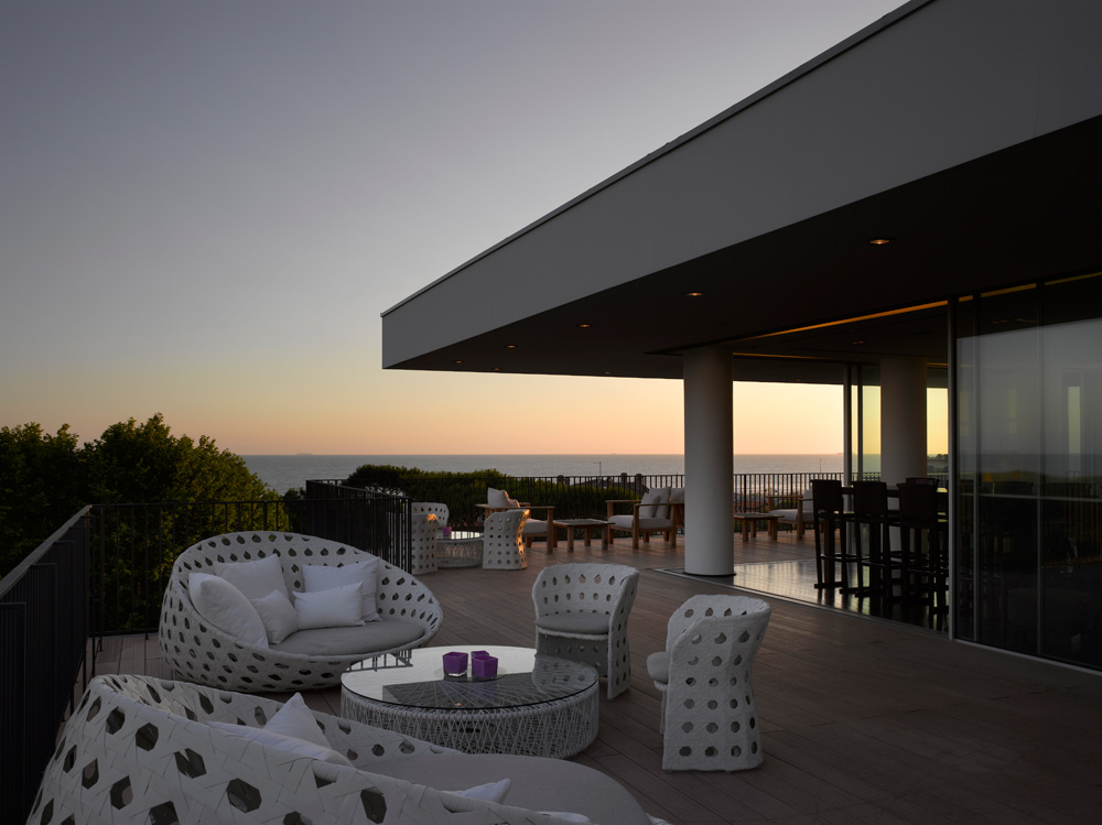 Terrace Views at Principe Forte dei Marmi Forte dei MarmiItaly