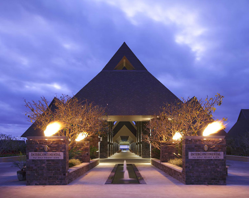 InterContinental Fiji Golf Resort and Spa<br />Entrance
