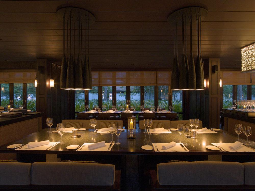 Restaurant at Nam Hai Hotel