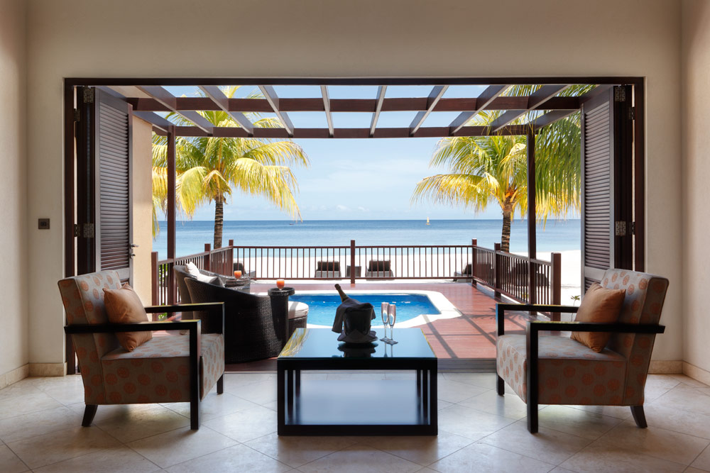 Villa with Private Deck and Plunge Pool at Buccament Bay Spa and Resort, Saint Vincent and the Grenadines