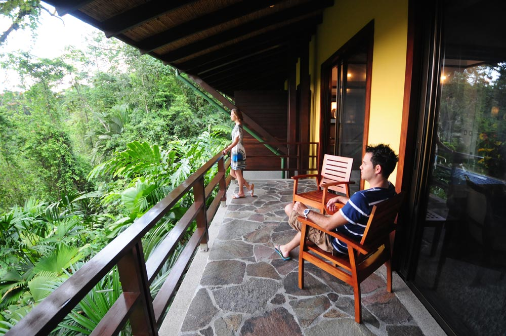 Rain Forest Suite Terrace at Tabacon Thermal Resort & SpaLa Fortuna de San CarlosAlajuelaCosta Rica