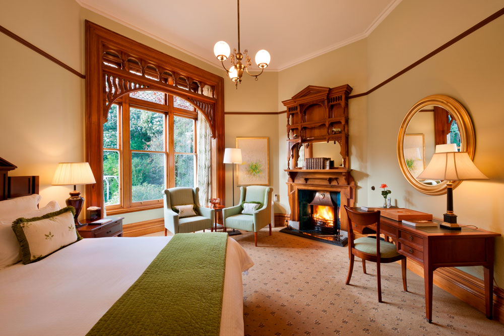Botanical Suite at Otahuna LodgeNew Zealand