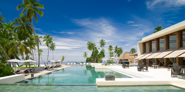 Park Hyatt Maldives Hadahaa Pool Area