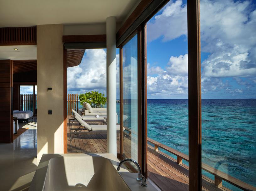 Park Hyatt Maldives Hadahaa Park Water Villa Interior