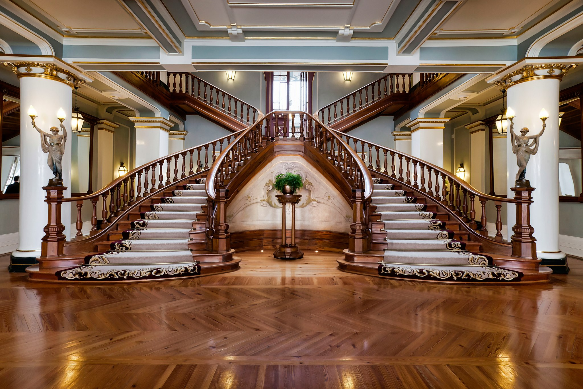 Vidago Palace Staircase