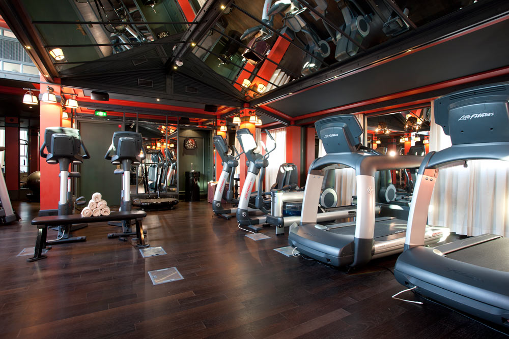 Fitness Center at InterContinental BordeauxFrance