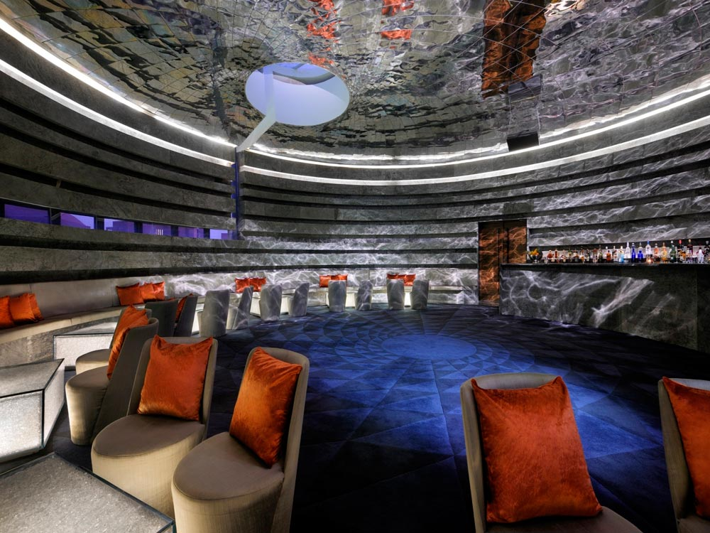 Chakra Bar at Lebua Resort JaipurRajasthanIndia