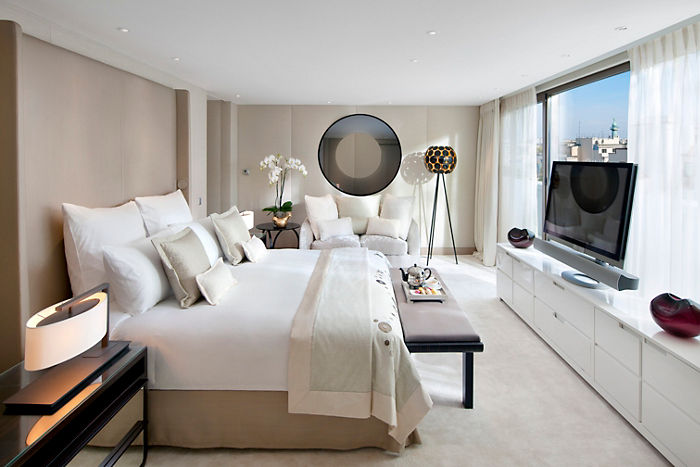Mandarin Oriental Paris Royale Suite Bedroom