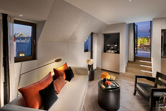 Mandarin Oriental Paris Crystal Suite