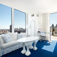 Suite Living Room at NoMo SoHo, New York