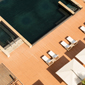 Aerial Pool View at Le Meridien Bahrain City Centre