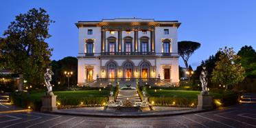 Exterior of Grand Hotel Villa Cora