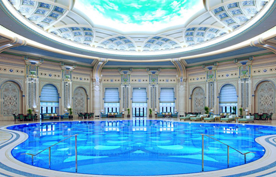 Ritz Carlton Riyadh Indoor Pool