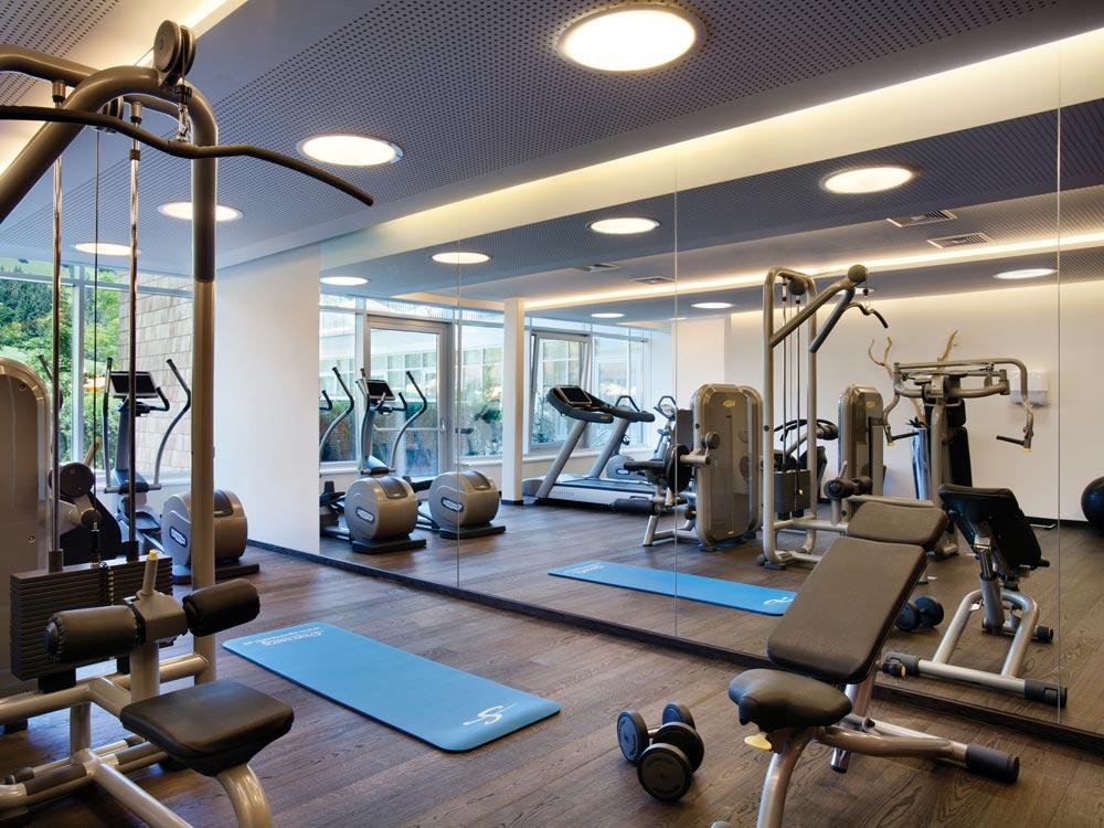 Kempinski Hotel Das Tirol fitness center, Austria