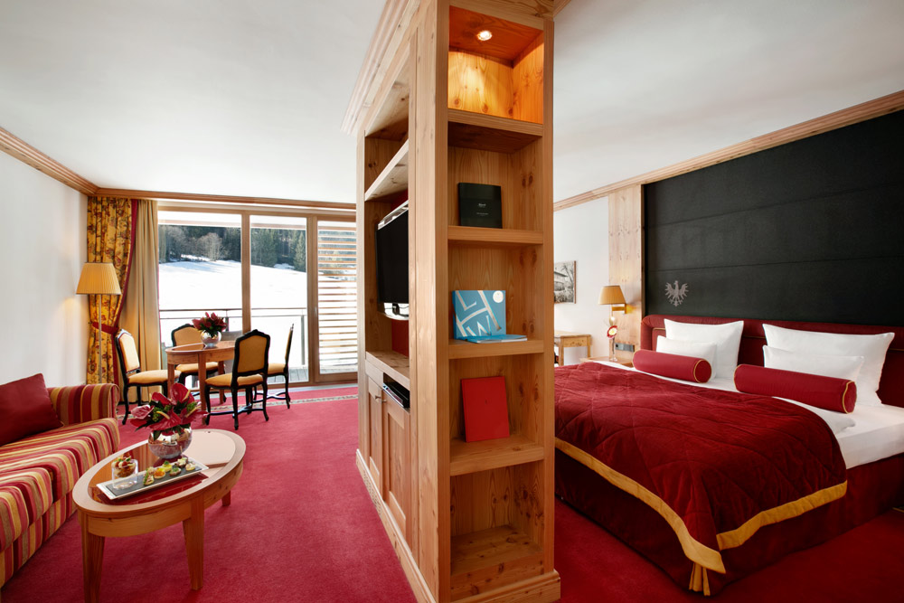 Kempinski Hotel Das Tirol deluxe jr suite, Austria