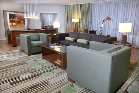 The Westin Georgetown Presidential Suite Living Room