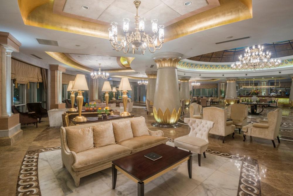 Lobby and Bar at Kempinski Hotel Badamdar Baku, Azerbaijan