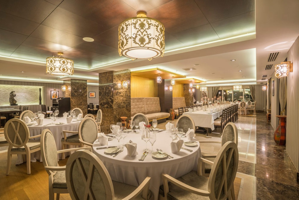 Badamar Restaurant at Kempinski Hotel Badamdar Baku, Azerbaijan