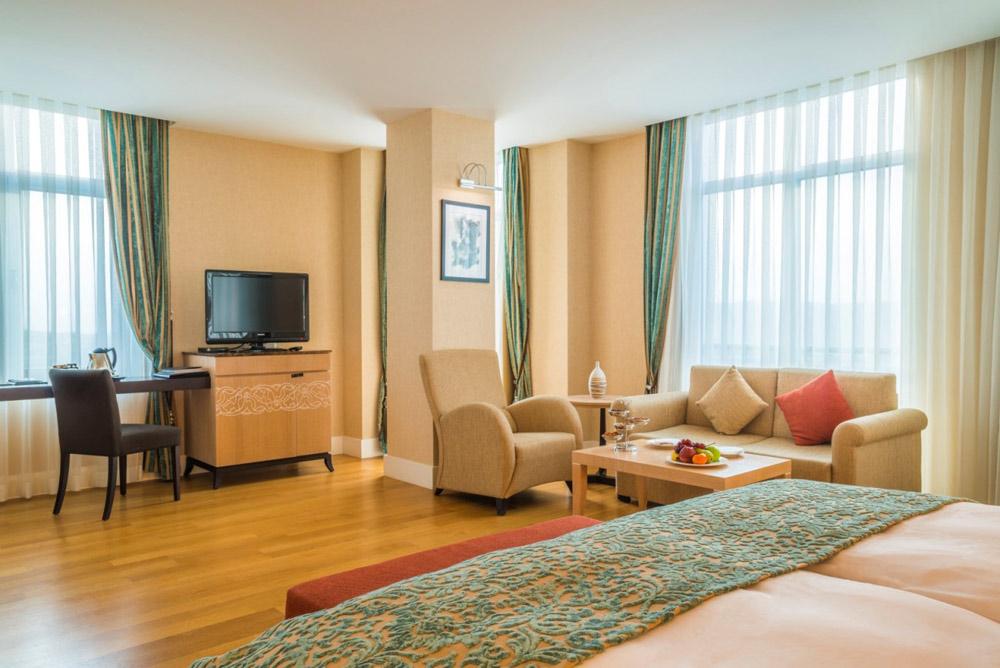 Deluxe Suite at Kempinski Hotel Badamdar BakuAzerbaijan