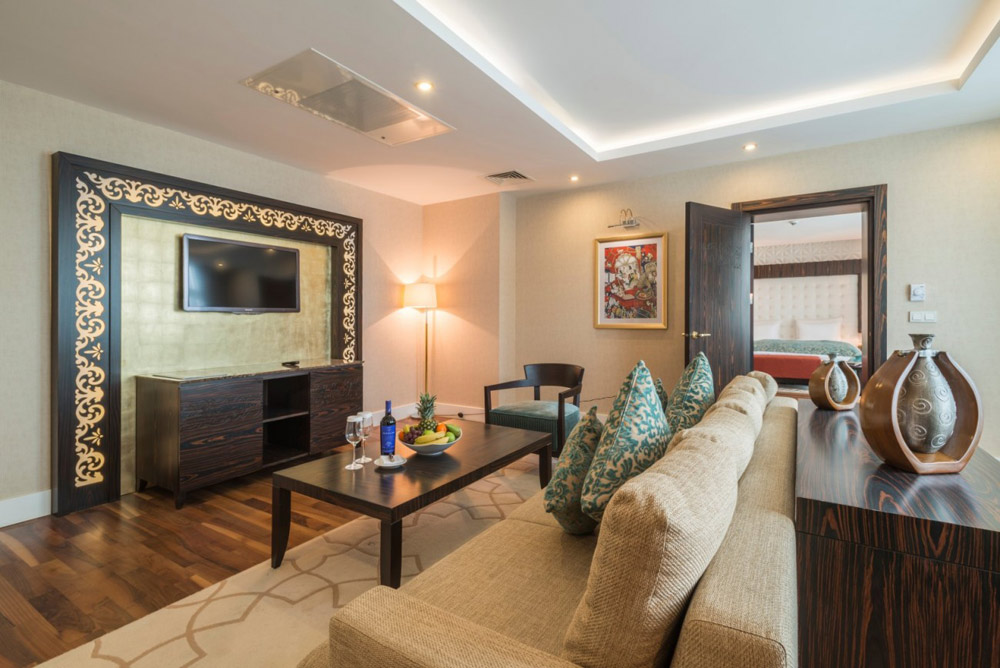 Superior Suite at Kempinski Hotel Badamdar Baku, Azerbaijan