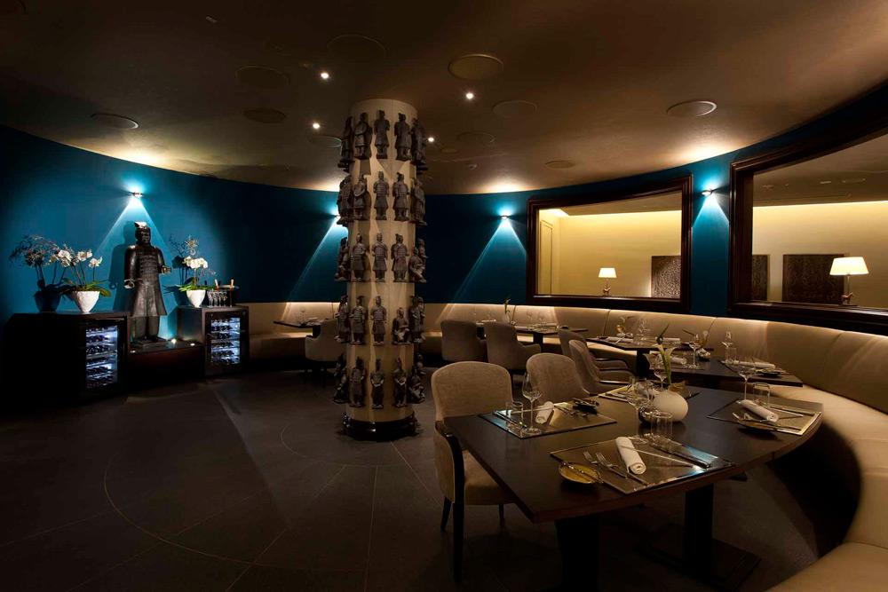 Lounge at Kempinski Hotel Gravenbruch