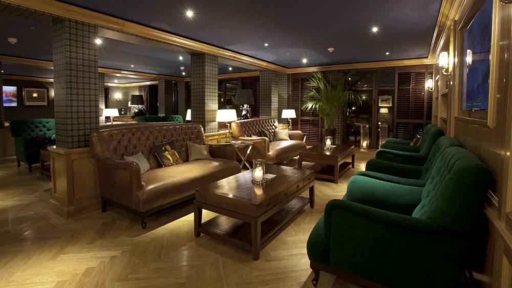 Smokers Lounge at Kempinski Hotel Gravenbruch