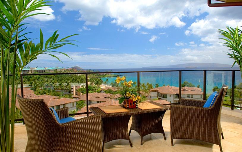 Wailea Beach Villas Penthouse Lanai