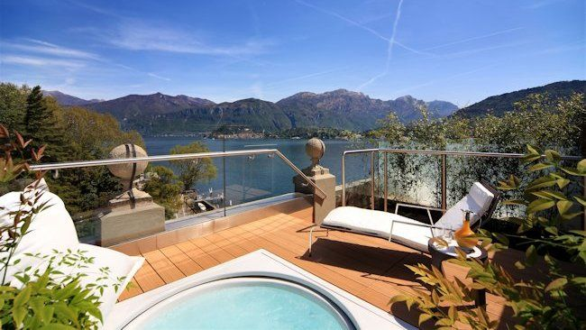 Grand Hotel Tremezzo Rooftop Suite Terrace