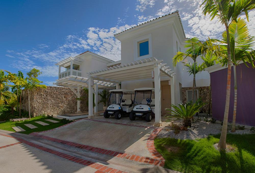 Three Bedroom Royale Villa Entrance at Eden Roc at Cap Cana, Punta Cana, Dominican Republic