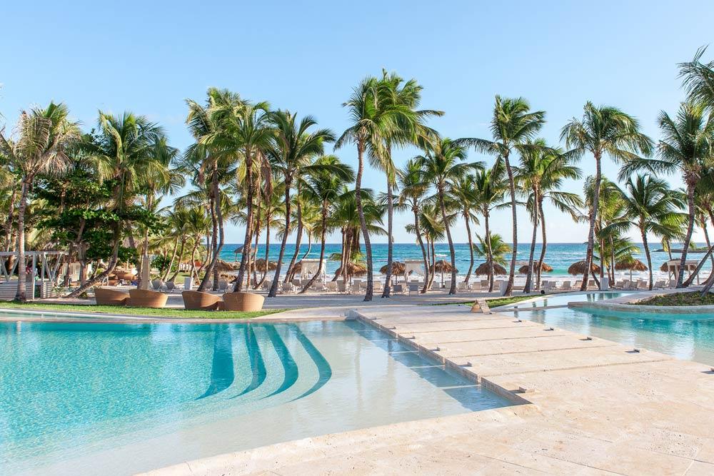 Pool at Eden Roc at Cap Cana, Punta Cana, Dominican Republic