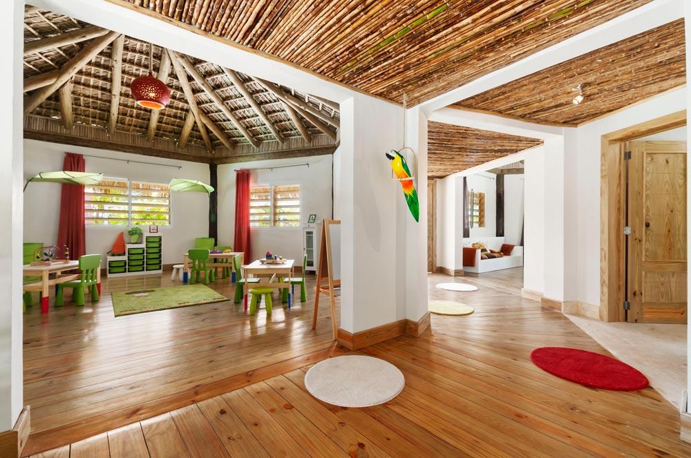 Interior of Koko Kids Club at Eden Roc at Cap Cana, Punta Cana, Dominican Republic