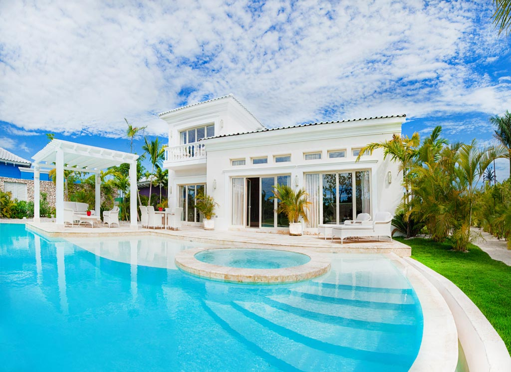 Three Bedroom Royale Villa with Swimming and Jacuzzi at Eden Roc at Cap Cana, Punta Cana, Dominican Republic