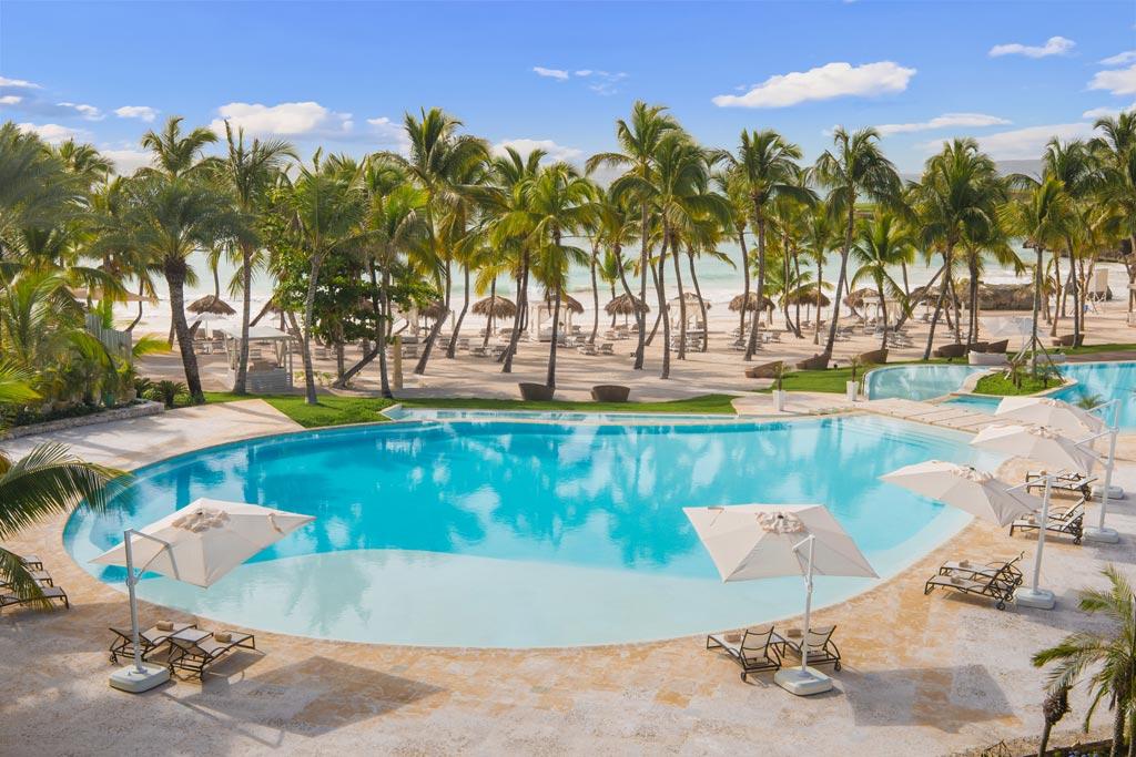 Infinity Pool at Eden Roc at Cap Cana, Punta Cana, Dominican Republic
